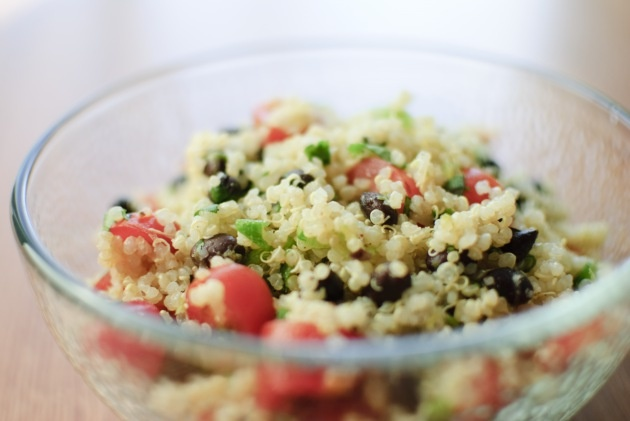 Quinoa with black beans and tomato | Scrumptious Side Dishes | Pinter ...