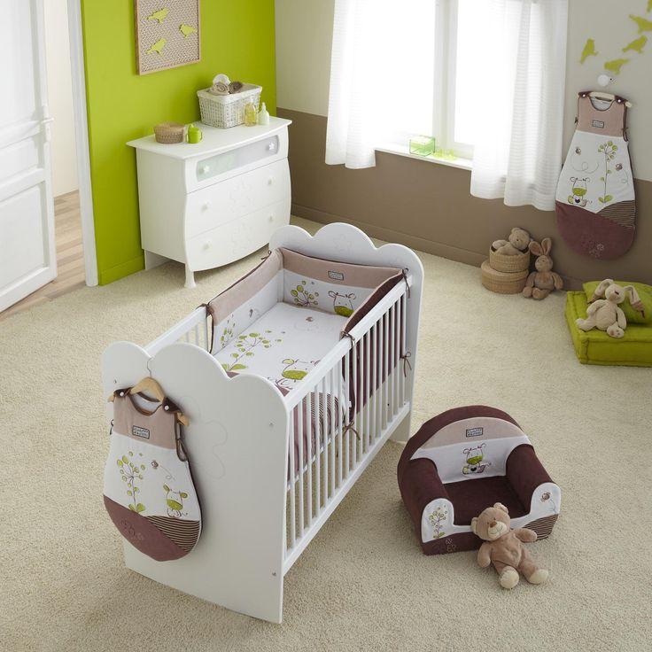 Beautiful Chambre Couleur Vert Et Marron Photos - Design Trends ...