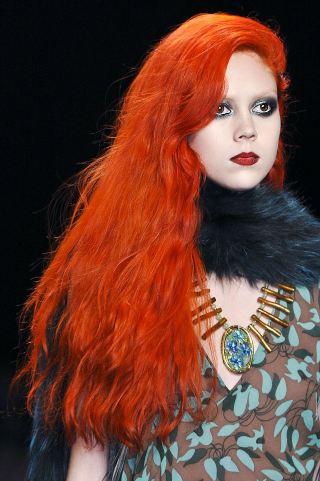 Acconciature: idee per la notte di Halloween - #hairstyles