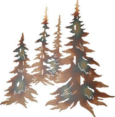 Plasma Cut Trees Abode Elevations Floor Plans