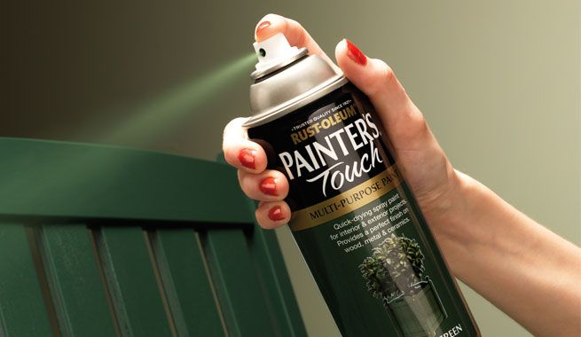Rustoleum spray paint how-to guide for any surface.