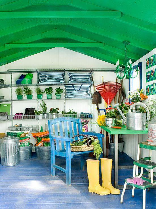 Easy Ways To Organize Garden Gear. Outdoor Storage ShedsShed ...