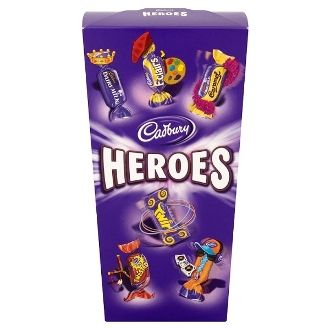 Cadbury Heroes Chocolate Carton 200g
