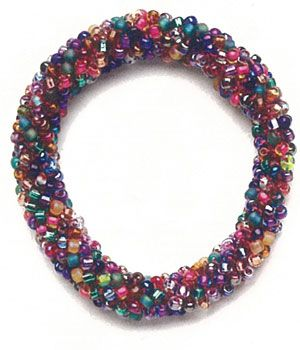 Learn how to make beaded crochet, including this crochet beaded bracelet.