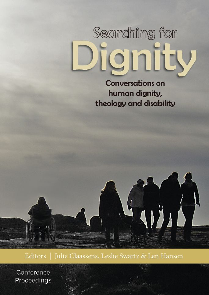 This publication fills a unique gap in the theological and religious engagement with the issue of human disability in South Africa. Combining the contributions of scholars, practitioners and people living with disabilities, it stands out for the way in which it promotes an interdisciplinary debate on disability and human dignity from a theological point of departure and interest.