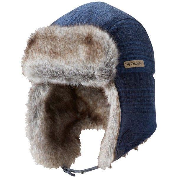 Columbia Men's Nobel Falls Ii Trapper Hat (130 BRL) ❤ liked on Polyvore featuring men's fashion, men's accessories, men's hats, collegiate, mens hats and mens trapper hat
