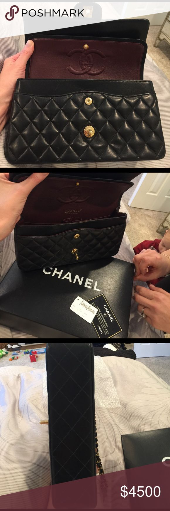 Chanel Purse Chanel Purse; Absolutely pristine condition! Send me your email for more information/pricing! CHANEL Bags Shoulder Bags