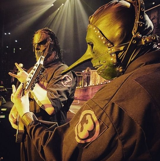 mick thomson and chris fehn