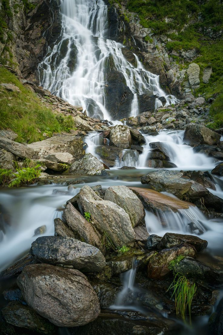 You have to go through a half an hour mountain hike to get to this waterfall, and the hike is not easy, still, there where tons of people making selfies all around the place. It was a real challenge to take this image.   Hope you like it, enjoy! Photo: Balea Waterfall, Romania www.creartphoto.ro
