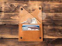 Damen Geldbeutel Leder Geldbörse Brieftasche