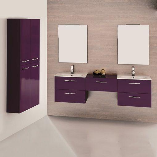 Play bakłażan. Play aubergine. #elita #meble #lazienka #play #furniture #bathroom