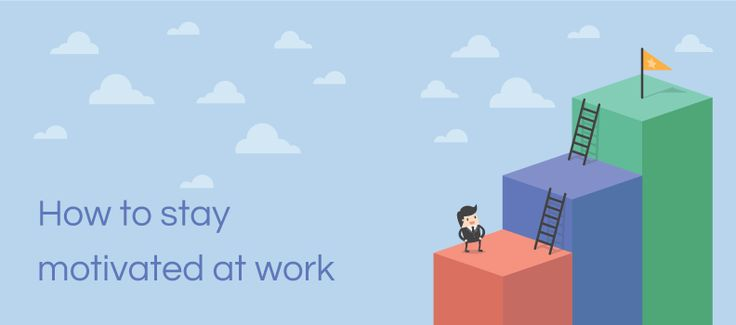 Staying motivated at work is a big problem for a lot of people. With so much mental stimulation all around us, it's no wonder we can't just focus on one task. Whilst breaking this cycle of procrastination can be difficult, once you make a change you'll soon slip into a routine that keeps you motivated for longer.