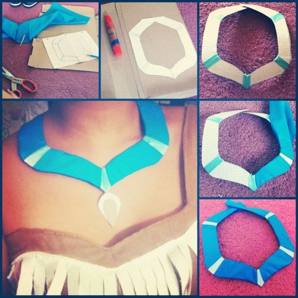 indian breastplate how to make