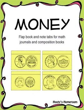 Here's a set of interactive notebook resources for the study of money.
