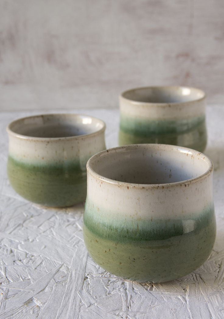 CHEERS!! Mother's Day Gift, Wine Gift, Wine Tumbler, Pottery Cups, Ceramic Wine Cup, Small Cups, Green Wine Cup, Green Ceramic Cup, St. Patrick Gift, MAD ABOUT POTTERY, HANDMADE, CERAMICS, CRAFT, ETSY SHOP, HOSTESS GIFT, NEW HOME GIFT
