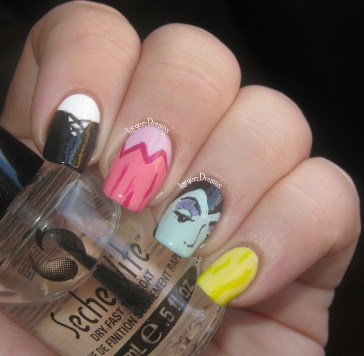 Sleeping Beauty Nail Art: 80 Best Images About Disney Nails On Pinterest