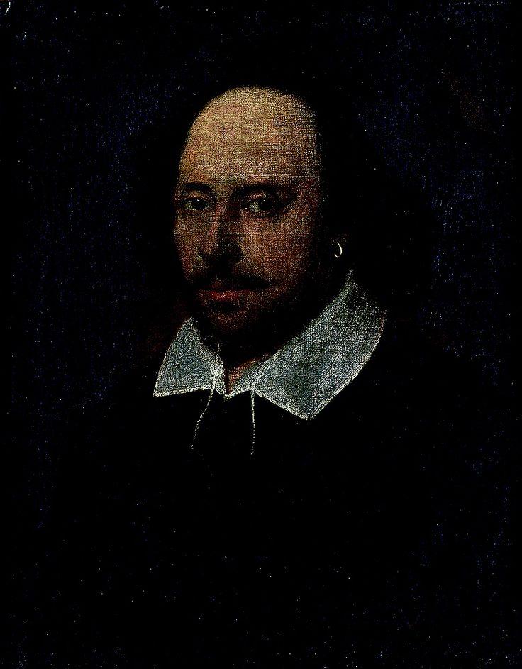 Джон Тейлор (приписывается). Уильям Шекспир. Около 1592
