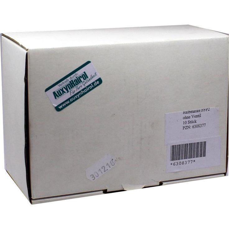 MUNDSCHUTZ FFP2 Halbmaske N:   Packungsinhalt: 10 St PZN: 06308377 Hersteller: AUXYNHAIROL Vertrieb GmbH Preis: 30,31 EUR inkl. 19 %…