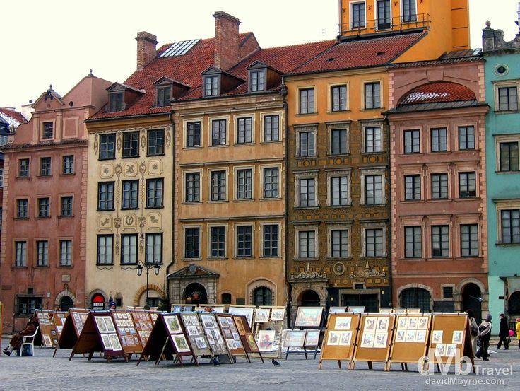 Old Town, Warsaw, Poland | dMb Travel - Travel with davidMbyrne.com