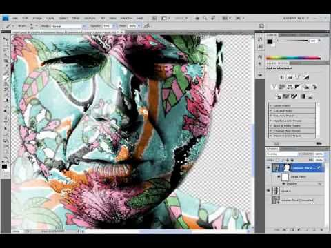This video shows you how to give peoples faces a cool pattern or texture. It gives the face great detail and contrast.