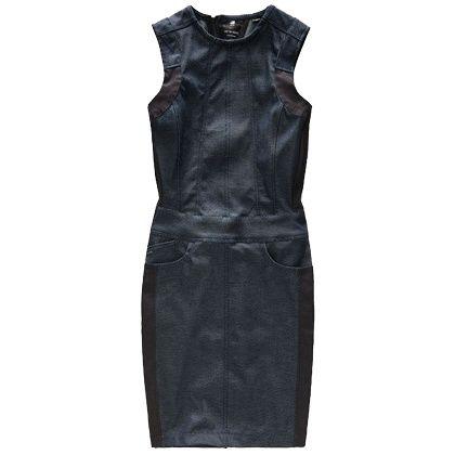 Super stoer of lekker casual: met dit denim jurkje kun je alle kanten uit! >> http://stylefru.it/s886190