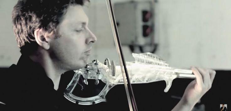 VIDEO. L'incroyable son du premier violon électrique imprimé en 3D