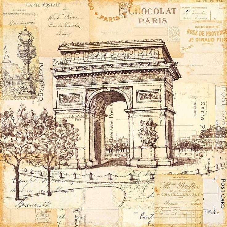 Masterpiece Art - Paris Collage III, $18.30 (http://www.masterpieceart.com.au/paris-collage-iii/)