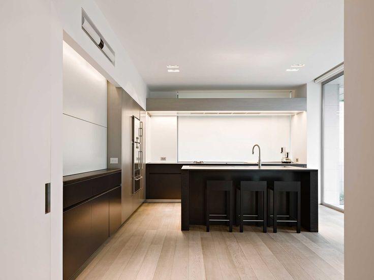 Obumex Kitchens Interior Black Amp White Kitchen Island Architect Obumex Kitchen