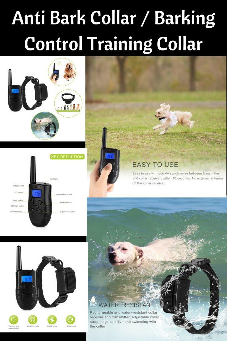 Get Yours Today Anti Bark Collar Training Collar Dog Training