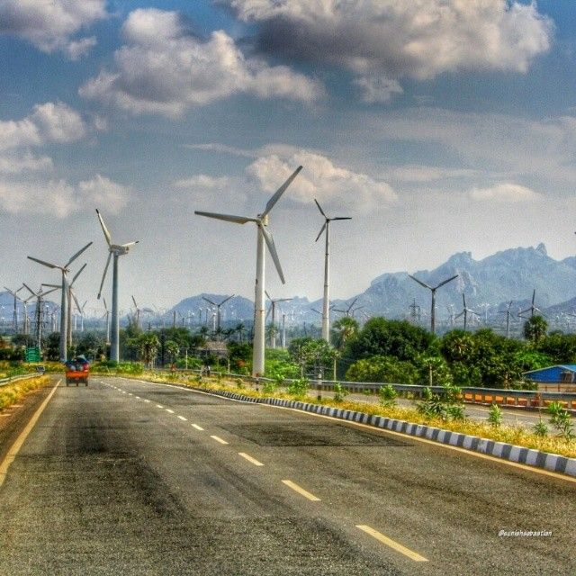 Clean Energy Location: #Chennai #Kanyakumari road