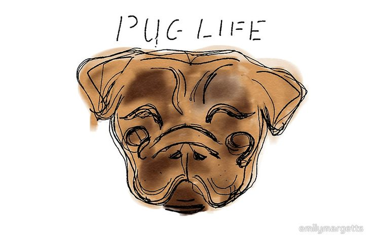 PUGLIFE Digital Artwork by me available as laptop skins and sleeves. High quality prints. Great Gift ideas !.  #art #digitalart #artwork #pug #pup #dog #puglife #artist #prints #gift #ideas #laptop #case #laptop #sleeve #giftidea