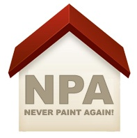 Never Paint Again weatherproof Exterior wall coatings and rendering offer a 15 year guarantee on house painting, decorating, insulation and damp proofing masonry paints