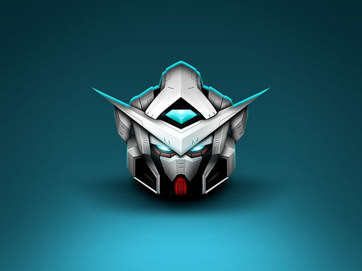 Dribbble - Gundam icon by JOMMANS