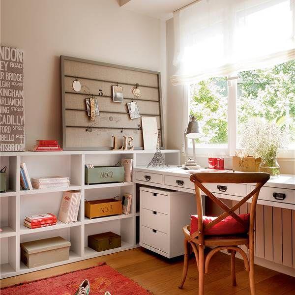 Las 25 mejores ideas sobre colores para dormitorio de for Dormitorios juveniles con escritorio incorporado