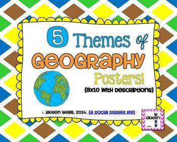 The 25+ best Five Themes Of Geography ideas on Pinterest ...