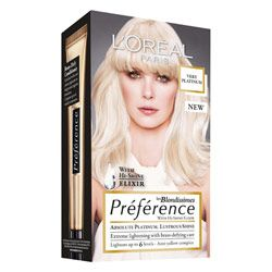 Buy L'Oreal Paris Preference Very Platinum 6 Levels of Lift 1 pack Online | Priceline