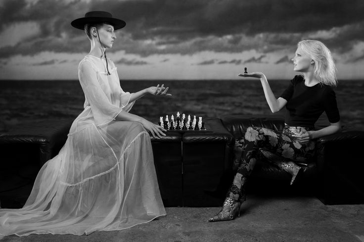 The Seventh Seal - an exclusive for The Impression - Art Directors/Photographers Sonja & Leif and Stylist Lorena Maza's ode to The Seventh Seal