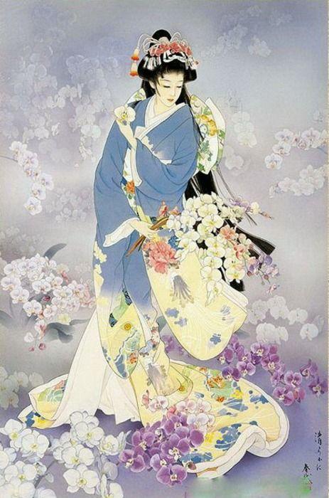 Haruyo Morita....adoro i colori e la grazia.