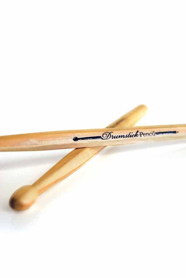 Drumstick pencil - Set da 2 By SuckUk. Set di 2 matite in legno.