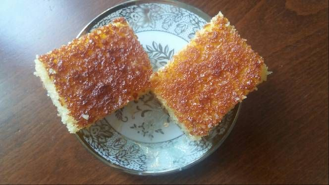 بسبوسة دداح بالصور من ام عائشة ام عائشة Recipe Food French Toast Breakfast