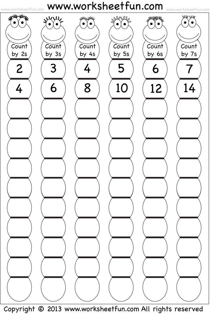 12 Best Multiplication Worksheets Images On Pinterest