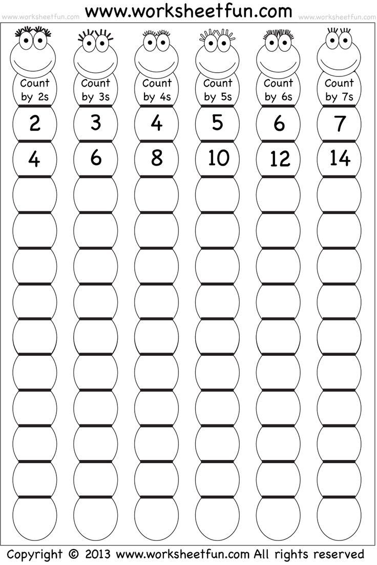 20 best Counting Worksheets images on Pinterest | Math, Preschool ...