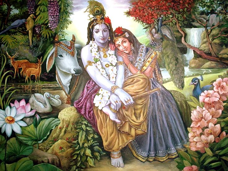 FREE Download Radha And Krishna Wallpapers
