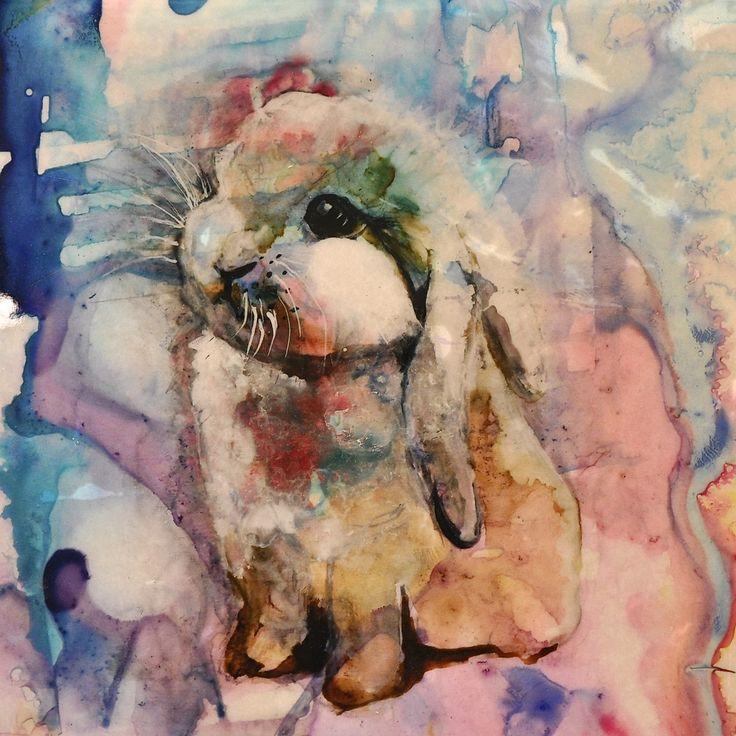 Judy Mountjoy art - bunny