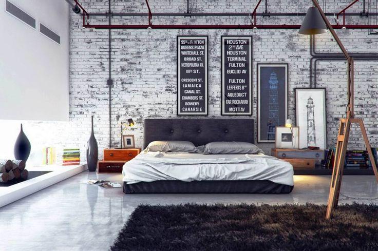Habitación estilo urbano