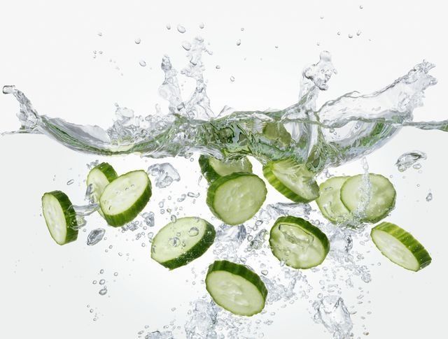 Cucumber beauty recipes for puffy eyes, sunburn, tired feet, oily skin and much more.