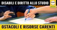 Basilicata: #Diritto allo #studio dei disabili: mille ostacoli e sforbiciate governative (link: http://ift.tt/2dZrGSm )