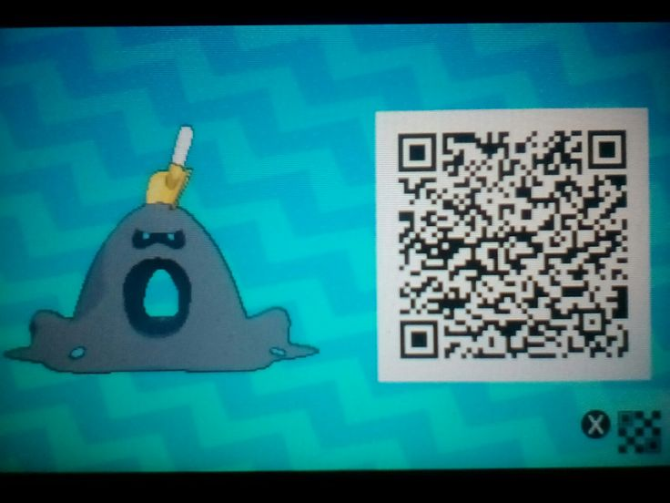 One of my friends let me scan his Shiny Sandygast QR Code, so now I'll share it with you cool people!
