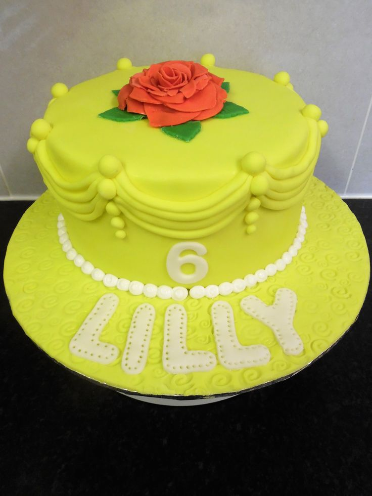 Beaty & the Beast cake