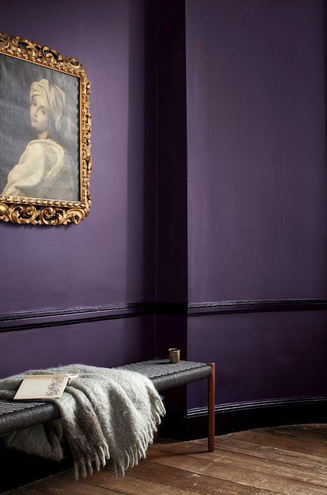 Leather Accent Tag - Ultra Violet Clouds by VIDA VIDA tShuN